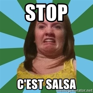 Disgusted Ginger - STOP C'est salsa