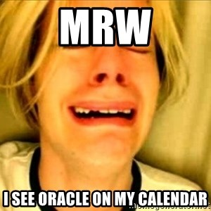 Leave Brittney Alone - MRW I see Oracle on my calendar