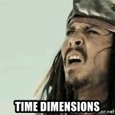 Jack Sparrow Reaction - Time Dimensions