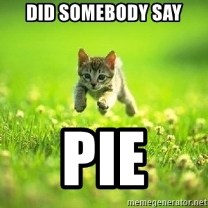 God Kills A Kitten - Did somebody say pie
