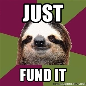 Just-Lazy-Sloth - Just  Fund it