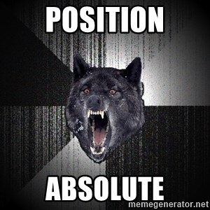 Insanity Wolf - position absolute