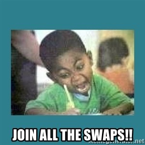 I love coloring kid - JOIN ALL THE SWAPS!!