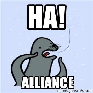 gay seal - HA!  alliance
