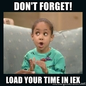 Raven Symone - DON'T FORGET! load your time in IEX