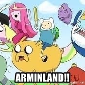 Adventure Time Meme - Arminland!!