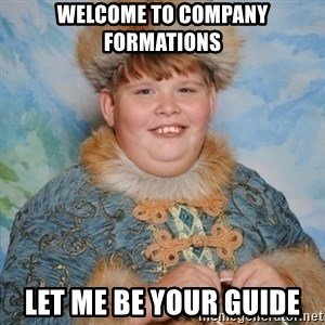 welcome to the internet i'll be your guide - Welcome to Company Formations Let me be your guide