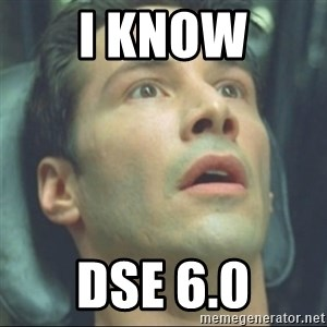 i know kung fu - I know DSE 6.0