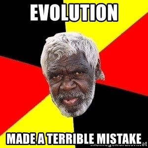 Abo - Evolution made a terrible mistake