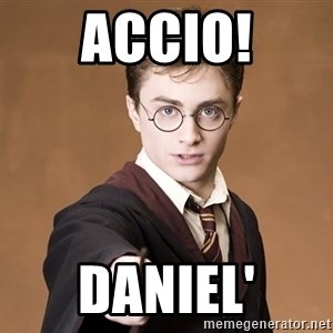 Advice Harry Potter - Accio! Daniel'