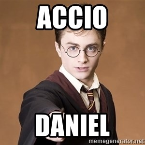 Advice Harry Potter - Accio Daniel