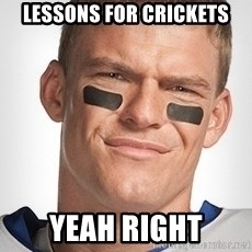 Thad Castle - Lessons For crickets Yeah Right