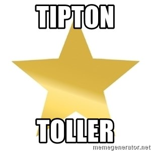 Gold Star Jimmy - Tipton Toller