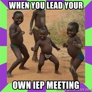 african kids dancing - When you lead your own IEP meeting