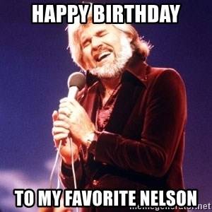 Kenny Rogers - Happy Birthday To My Favorite Nelson