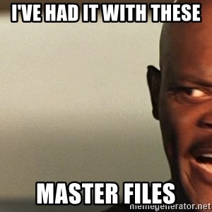 Snakes on a plane Samuel L Jackson - I've had it with these  Master Files