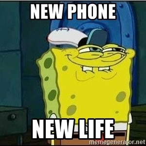 Bob Esponja - New phone New Life