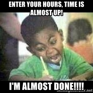 Black kid coloring - Enter your hours, time is almost up! I'm almost done!!!!