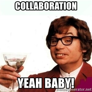 Austin Powers Drink - collaboration Yeah baby!