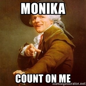 Joseph Ducreux - monika count on me