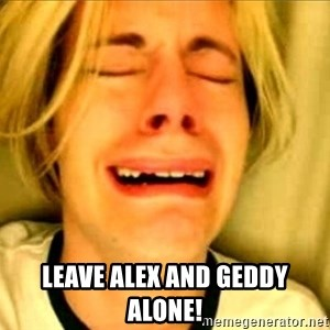 Leave Brittney Alone - leave alex and geddy alone!