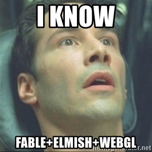 i know kung fu - i know fable+elmish+webgl