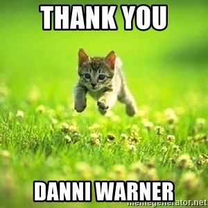 God Kills A Kitten - Thank you  Danni Warner
