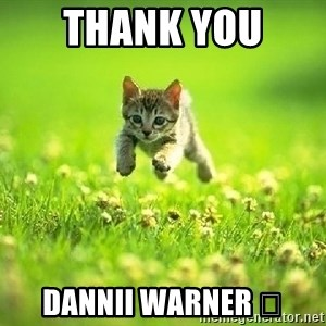 God Kills A Kitten - Thank you  Dannii Warner 🖤