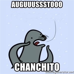 gay seal - Auguuussstooo Chanchito