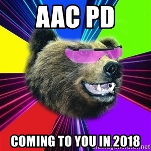 Party Bear - AAC PD COMING TO YOU IN 2018