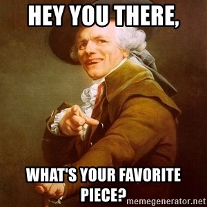 Joseph Ducreux - Hey you there,  What's your favorite piece?