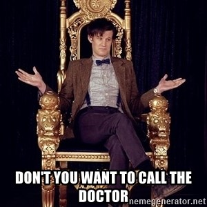 Hipster Doctor Who - Don't you want to call the Doctor