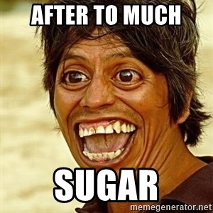 Crazy funny - after to much  sugar