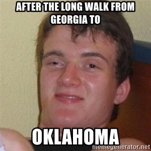 Stoner Stanley - AFTER THE LONG WALK FROM GEORGIA TO OKLAHOMA
