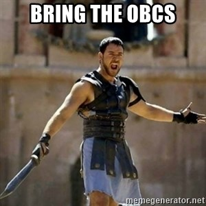 GLADIATOR - bring the obcs