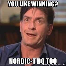 Sheen Derp - You like winning? Nordic-t do too