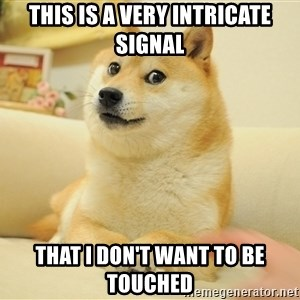 so doge - this is a very intricate signal that i don't want to be touched