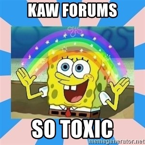 Spongebob Imagination - kaw forums so toxic