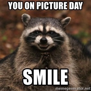 evil raccoon - You on picture DAY  Smile