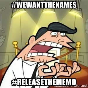 Timmy turner's dad IF I HAD ONE! - #WeWantTheNames #ReleaseTheMemo