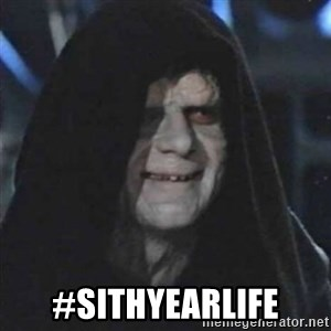 Sith Lord - #SithYearLife