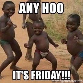 african children dancing - ANY HOO It's Friday!!!
