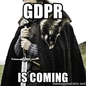 Ned Stark - GDPR IS Coming