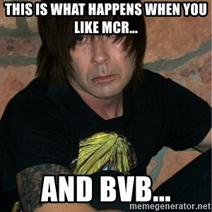 Emo Dad - this is what happens when you like mcr... and bvb...
