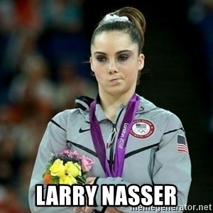 McKayla Maroney Not Impressed - Larry Nasser