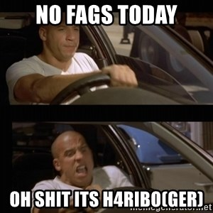 Vin Diesel Car - no fags today oh shit its h4ribo(GER)