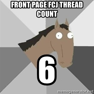Retard Horse - Front Page FCJ Thread Count 6