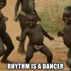 Black Kid - rhythm is a dancer