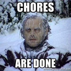 Frozen Jack - Chores Are done