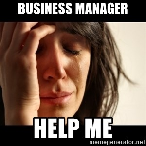 crying girl sad - BUSINESS MANAGER HELP ME